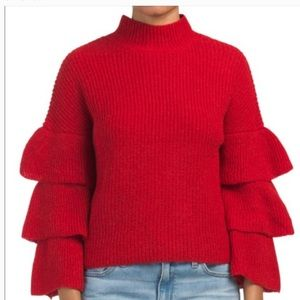 Ruby moon cropped sweater